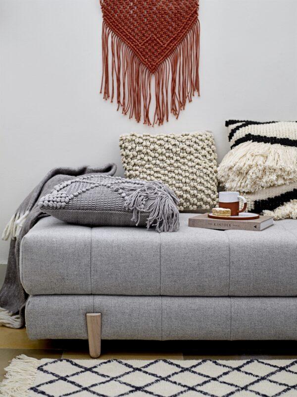 Bloomingville cushion grey