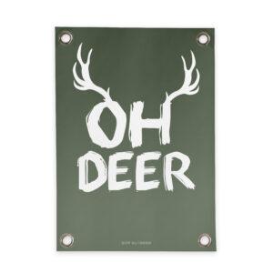 Garden poster Oh Deer Villa Madelief