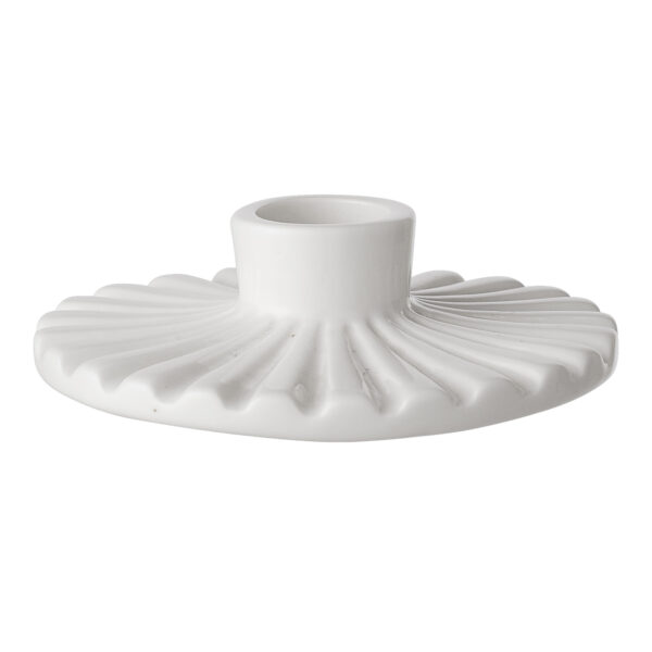 Bloomingville candle holder white Villa Madelief