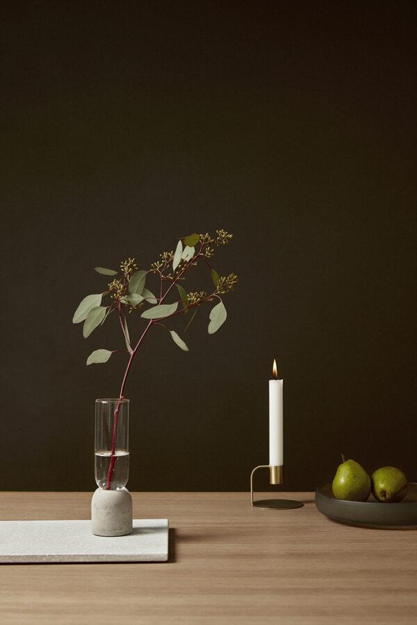 Candlestick gold Hübsch villa madelief