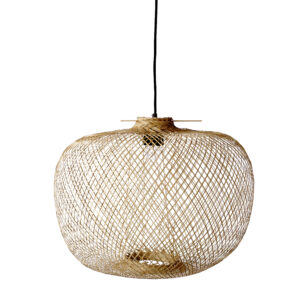 Bloomingville pendant lamp bamboo Villa Madelief