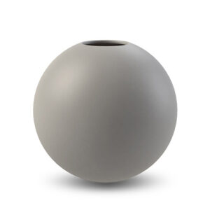 Ball shaped vase Cooee Design grey 10 cm