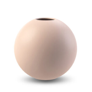 dusty pink Cooee Design ball vase 10 cm