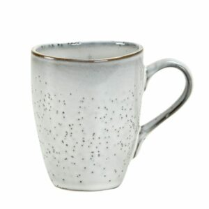 Nordic sand mug with handle Broste Copenhagen Villa Madelief