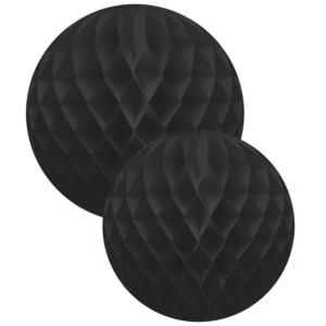 Honeycomb black XL set of 2