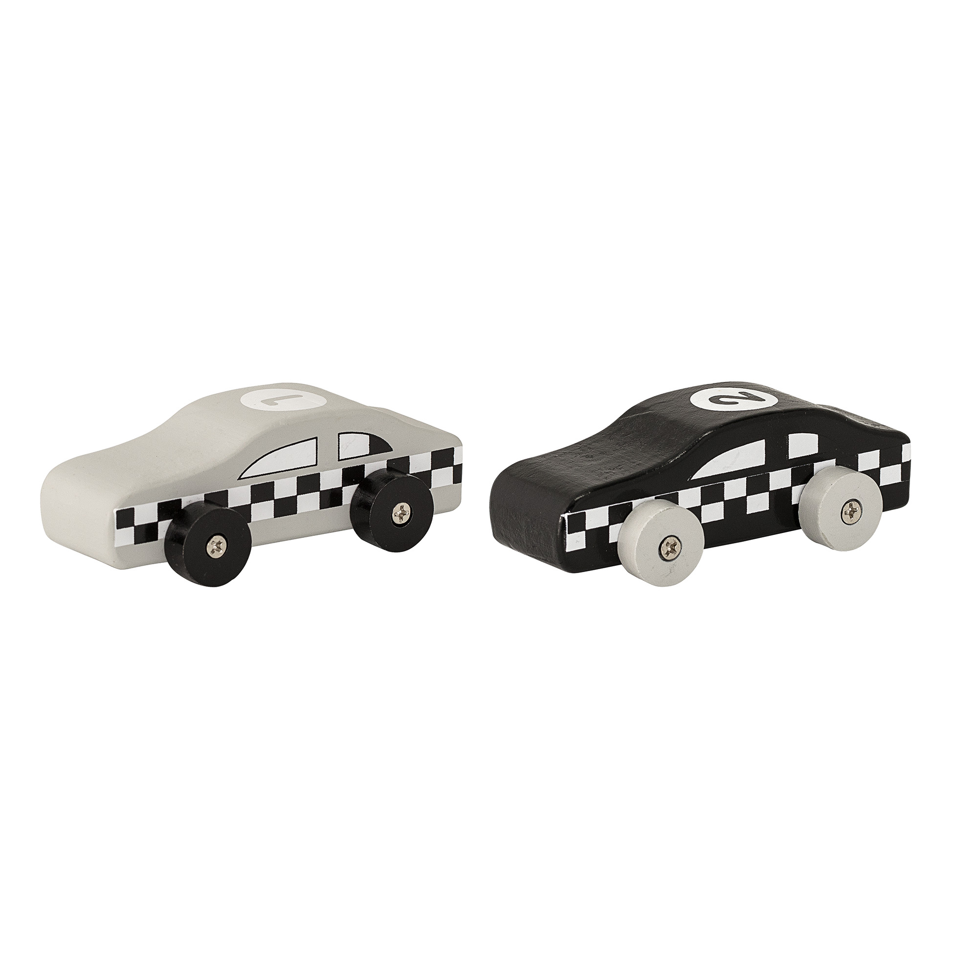 Bloomingville Wooden cars set of 2