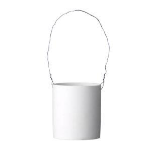 White flowerpot Bloomingville