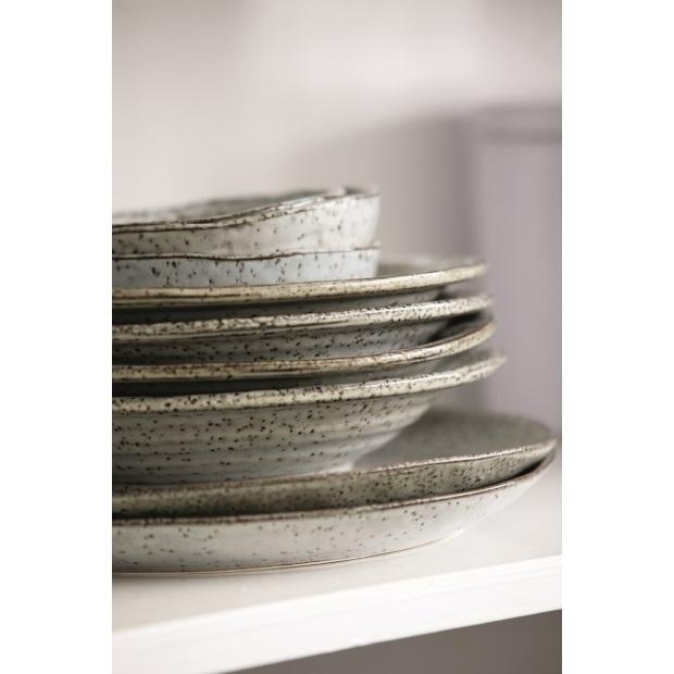 Vellidte House Doctor Rustic dishware soup plate Ø 25 cm | Villa Madelief DW-96