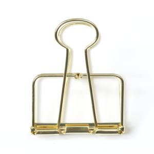 Golden binder clip 5 cm Villa Madelief