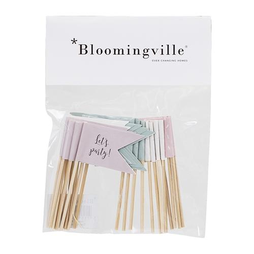 Bloomingville cocktailprikkers Villa Madelief
