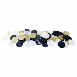 XL Confetti black white gold Delight Department