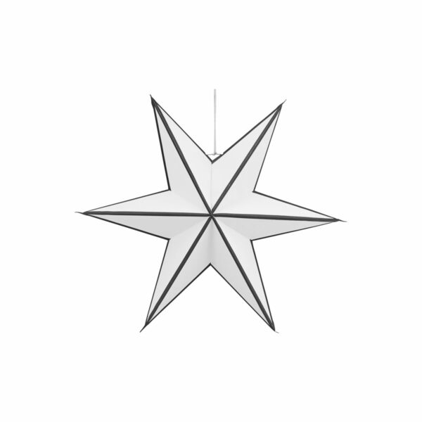 House Doctor star black and white Villa Madelief