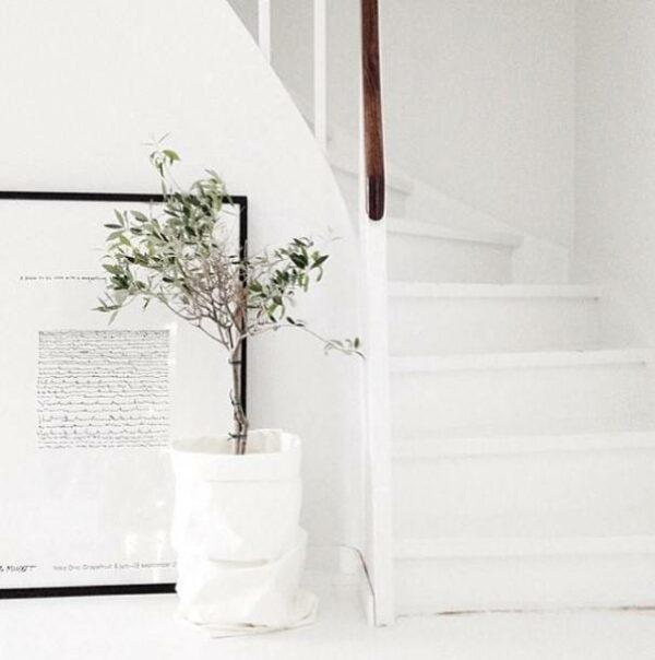 Uashmama paperbag white villa madelief