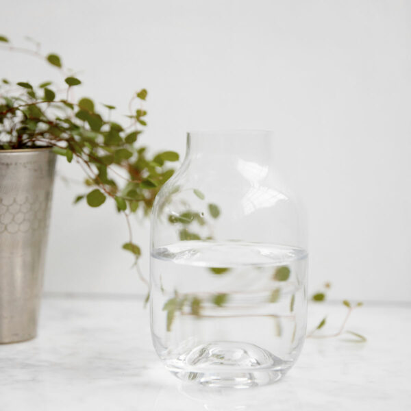 Vase shaped House Doctor clear small