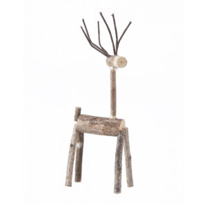wooden deer house doctor woody
