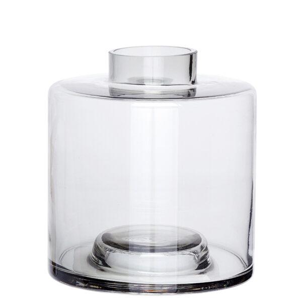 Hübsch vase grey large villa madelief