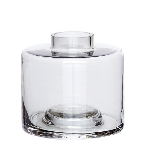 Hübsch vase grey small villa madelief