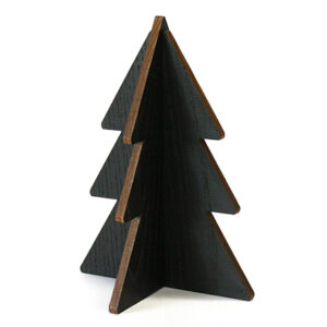 Christmas tree black wood