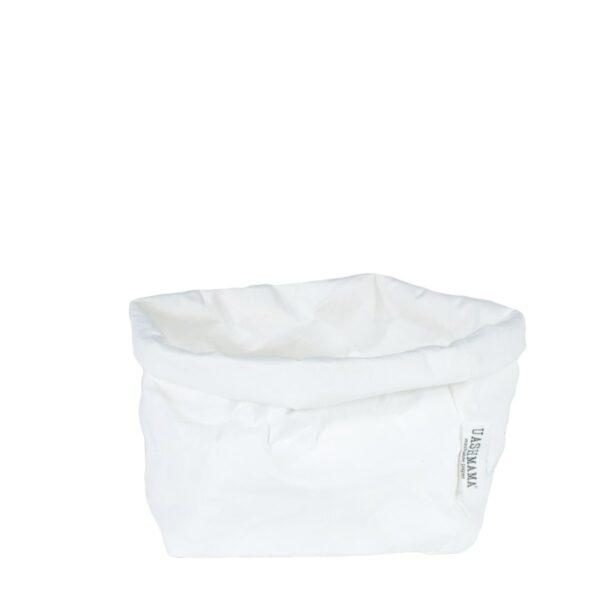 Uashmama paperbag white large villa madelief