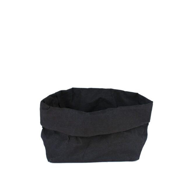 Uashmama paperbag black large villa madelief