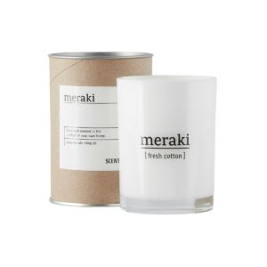 Meraki scented candle fresh cotton large