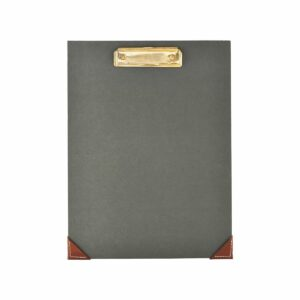 Clipboard Monograph darkgrey/green