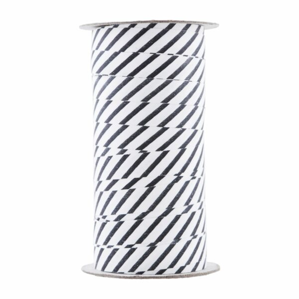 House Doctor Ribbon black and white