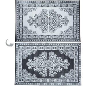 Monochrome garden carpet persian
