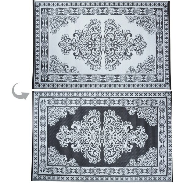 Monochrome garden carpet persian