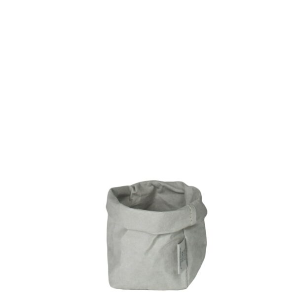 Uashmama paper bag grey piccolo villa madelief