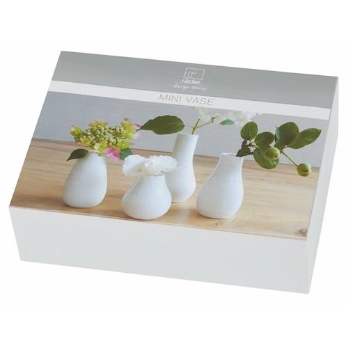 Räder white vases Villa Madelief