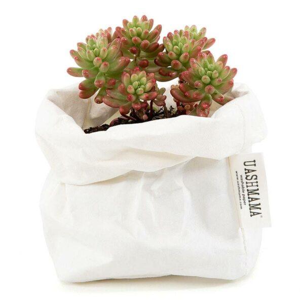 Uashmama paperbag white small villa madelief