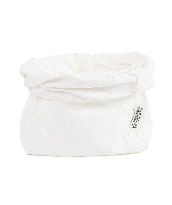 Uashmama paperbag white medium villa madelief