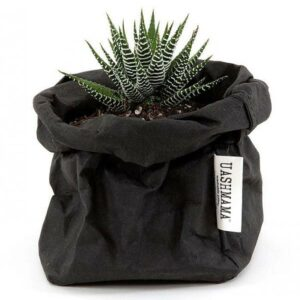 Uashmama paperbag black small villa madelief