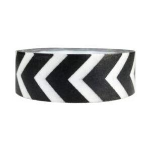 Black white masking tape arrow
