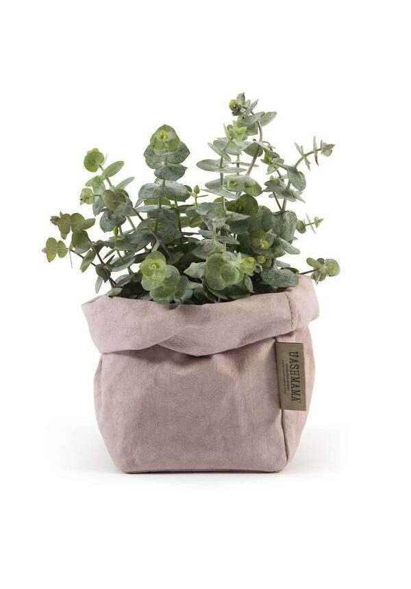 pink paperbag Uashmama medium Villa Madelief