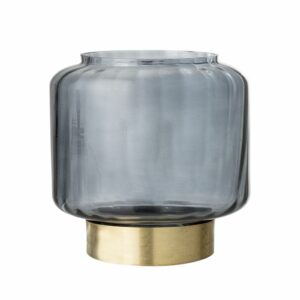 Bloomingville votive grey gold Villa Madelief