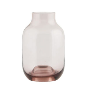 Pink House Doctor vase shaped small