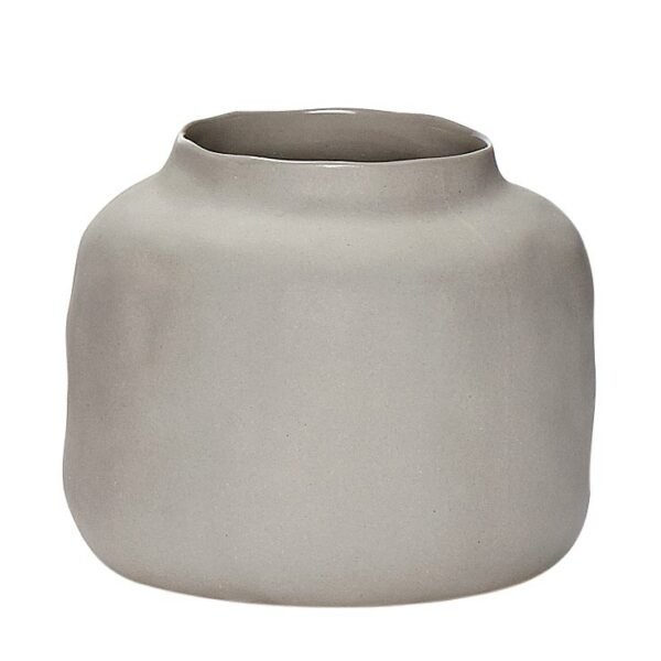 vase pastel hubsch light grey