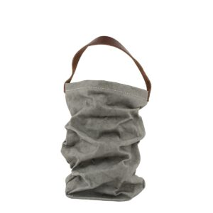 Uashmama wine bag dark grey villa madelief