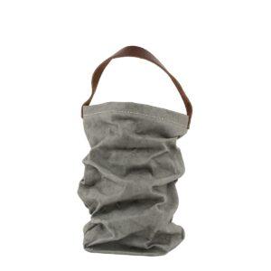 Uashmama wine bag dark grey villa madelief