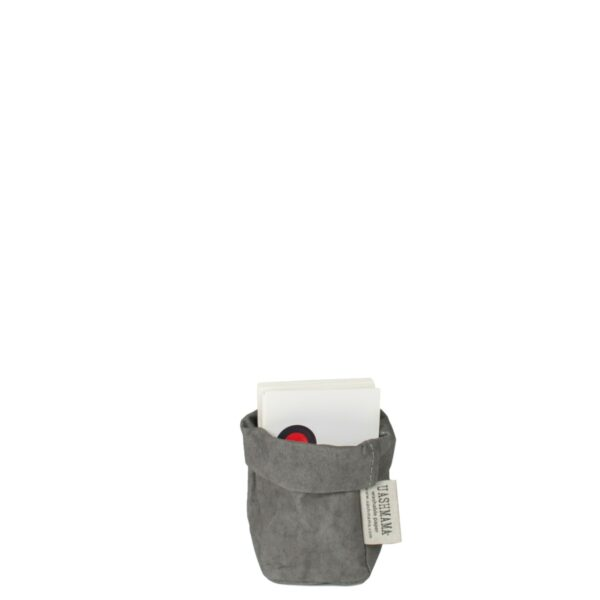 Dark grey paperbag Uashmama