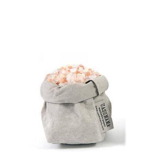 Uashmama paper bag grey xsmall villa madelief