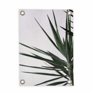 Tuinposter Palm Villa Madelief