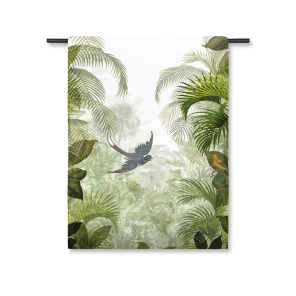Wandkleed Jungle Green