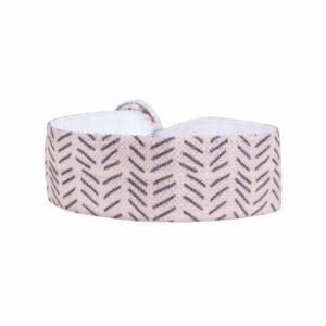 Zusss elastisch armbandje zigzag